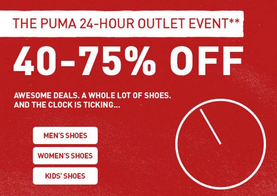 PUMA Canada Sale