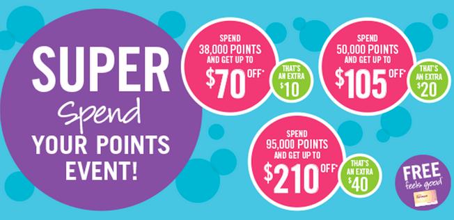 Shoppers Drug Mart Super Bonus Redemption