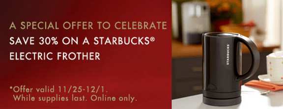 Starbucks Canada Deals