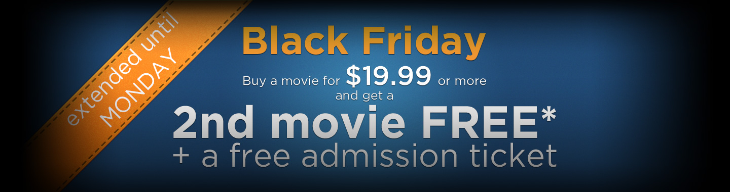 Cineplex Store Black Friday Deal