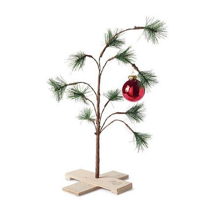 Sears: The Original Charlie Brown Christmas Tree for $10.49 ...