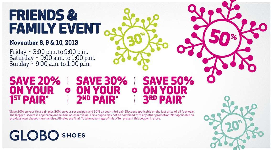 Globo shoes coupons 2018