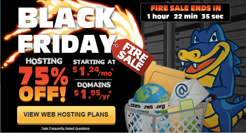 Host Gator Black Friday Cyber Monday