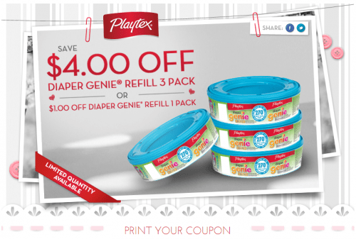 Playtex provides products for everyone, not just women! With these coupons, you can save on everything from baby products to household items. For babies, Playtex provides safe and functional bottles, cups, bottle nipples and diaper containers.