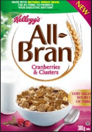 FREE All Bran Cranberries and Clusters