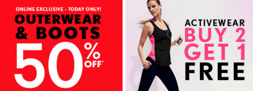 Forever 21 Boxing Day Offer