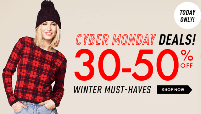 Forever 21 Canada Cyber Monday 2013 Sales