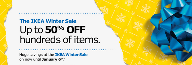 IKEA Canada Winter Sale