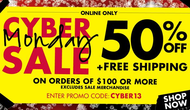 La Senza Canada Cyber Monday 2013 Sale