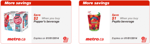 Metro Canada coupons