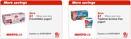 Metro Ontario Printable coupons