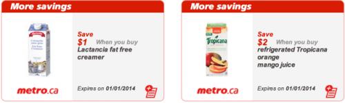 Metro Ontario coupons