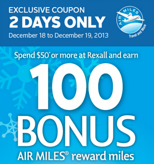 Coupons air miles