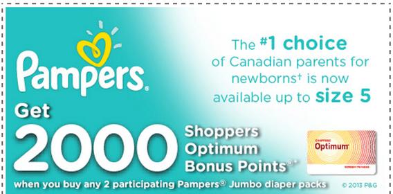 Shoppers Optimum Bonus Points z1386038342-small