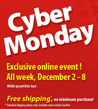 WalMart Cyper Monday 2013