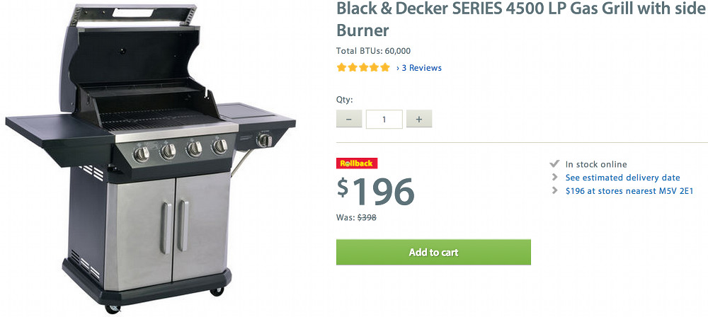 Walmart coupon gas grill