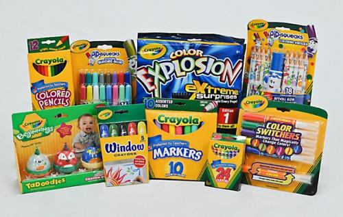 Crayola-pack