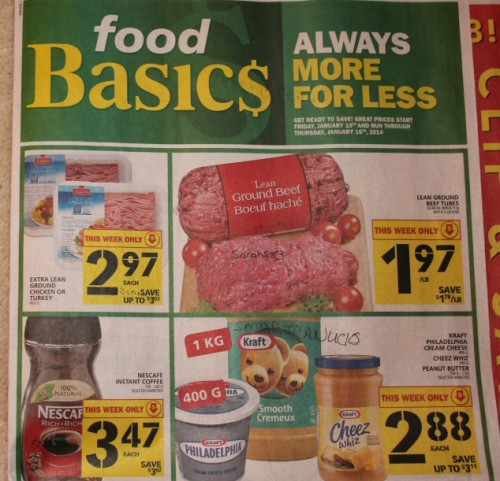 Food Basic Wekly Flyer