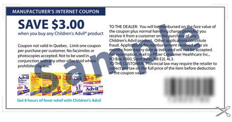 picture relating to Advil Printable Coupon named Walmart Canada: At present Simply Childrens Advil for Merely $1.97