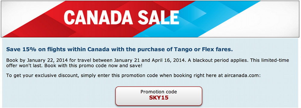 Flight centre coupons canada