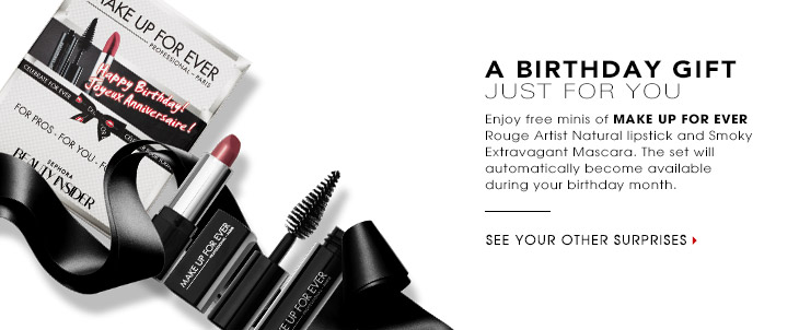 One Response To Sephora Canada Free Birthday Gift 2014