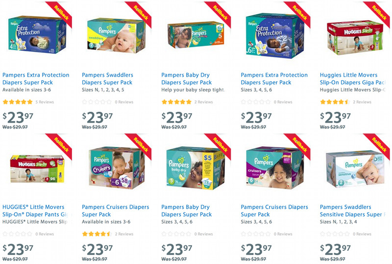 Walmart Diaper Coupons