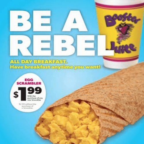 Booster Juice Canada offers