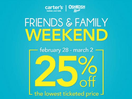 Carter's | OshKosh Canada Sales Event