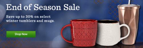 Starbucks Winter Sale