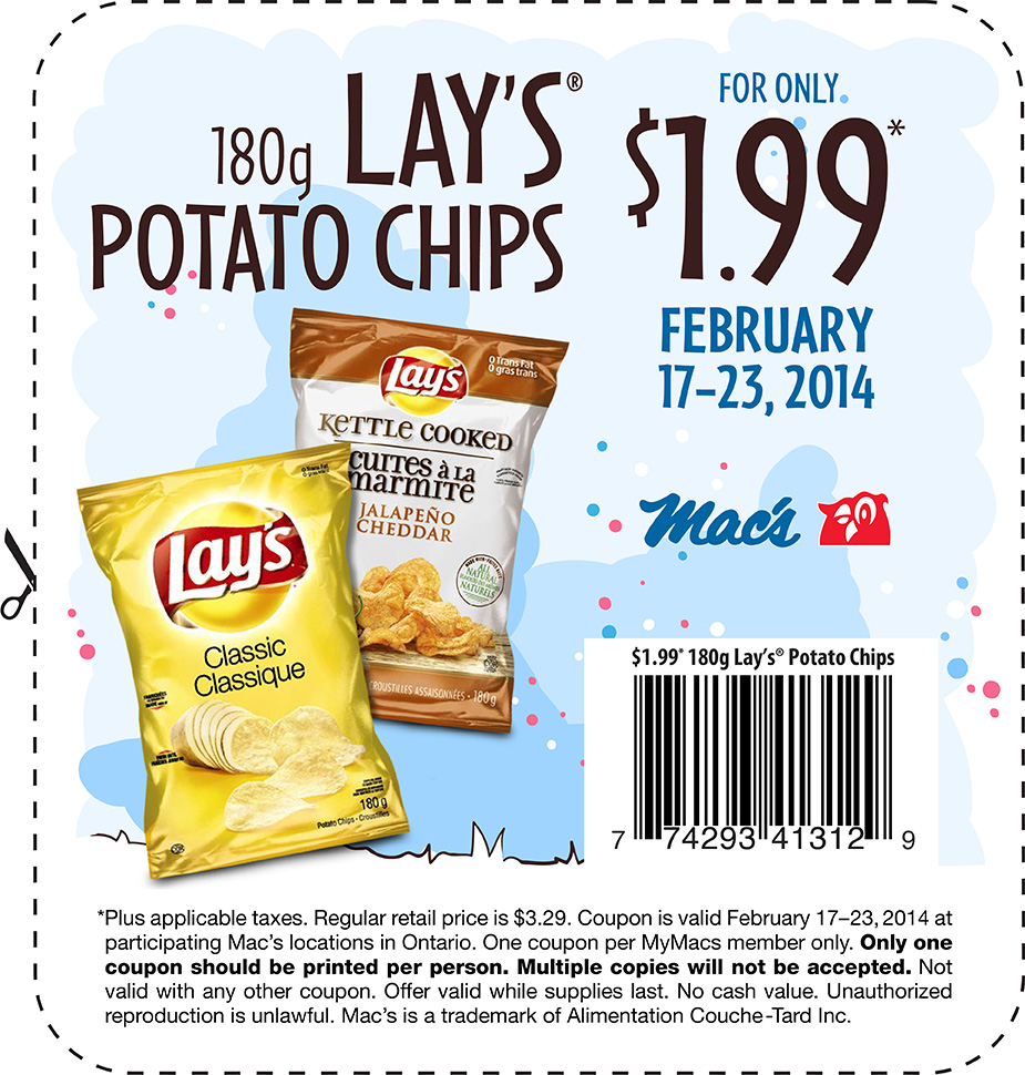 Sorry, no Frito Lay offers currently available.
