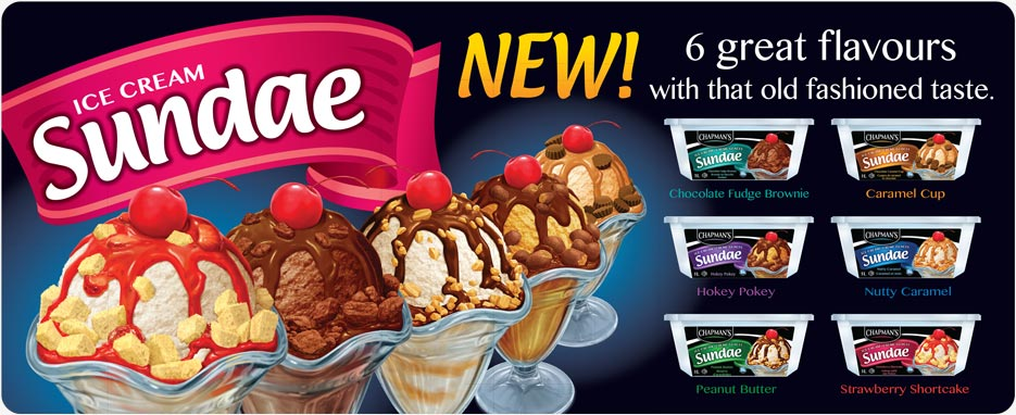 Chapman's ice cream coupon 2018