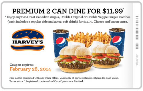 Harveys coupon oct 2018
