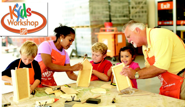 Children S Woodworking Workshop For Kids