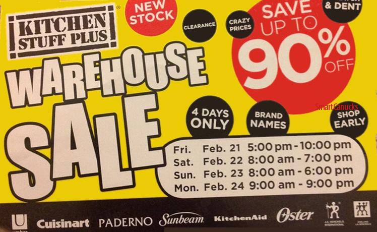 Kitchen Stuff Plus Warehouse Sale February