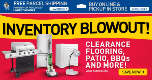 Lowe S Canada Inventory Blowout Clearance Flooring Patio