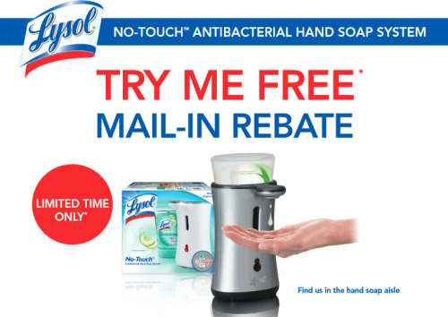 lysol mail in rebate