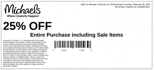 "2 days ago · The email will be titled ""Today Only: Save $20 When You Spend $50"" and will be coming from michaels@quicheckdimu.gq And, this promo code stacks with other codes! You can save 40% off any one regular priced item online or in stores with the promo code 40SAVE or with this coupon in-store (exp 12/8)."