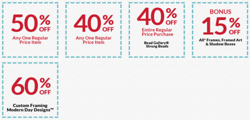 Michaels coupons canada