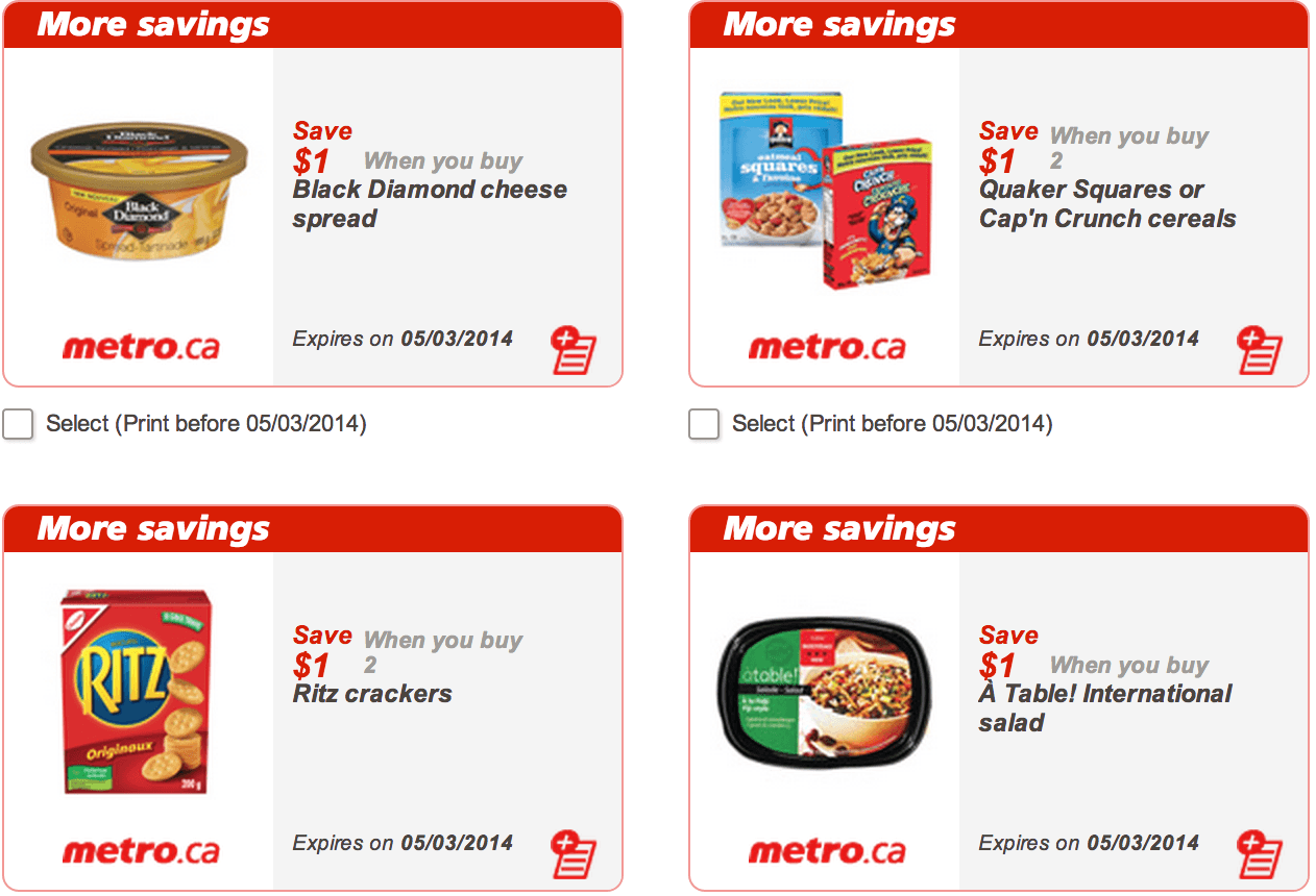 Best canadian printable coupon sites