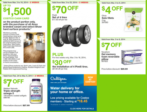 Costco Canada whole­sale ware­houses Flyers