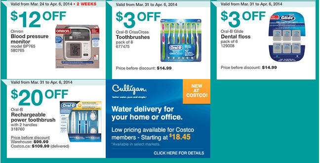 Costco Canada Western Weekly Instant Handouts Coupons