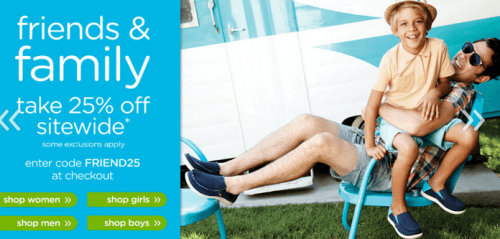 Crocs Canada Friends & Family Sale