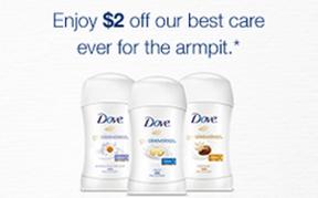 Dove deodorant printable coupon