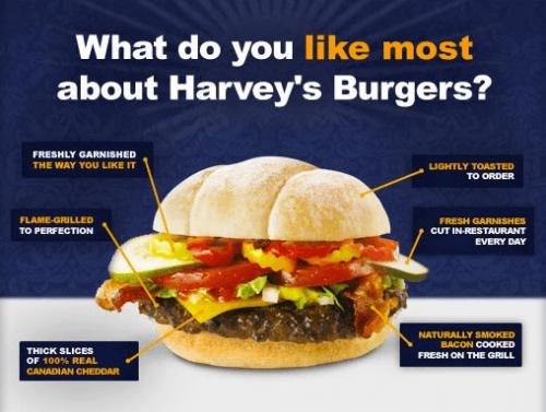 Fast Food Veggie Burger Canada
