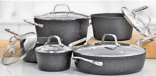 Heritage The Rock Non Stick Cookware Set