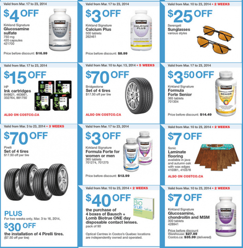 Costco Canada Weekly Instant Handouts Coupons Flyers For Quebec