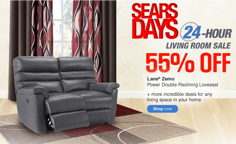 Sears Canada Days 24 Hour Living Room Sale Save Up To 55 Off And More Canadian Freebies