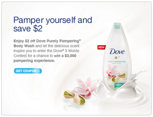Dove body wash printable coupon 2018