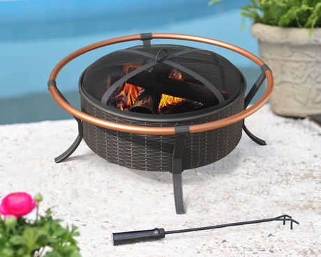 Walmart canada clearance big ring fire pit only 50 for Big fire pit