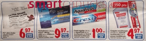 crest superstore freebie